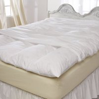 Pacific Coast® Feather Bed Cover w zip closure King 80x86 Inch