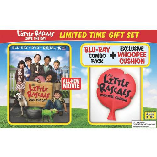 The Little Rascals Save The Day (Blu-ray   DVD   Digital HD   Exclusive Whoopie Cushion) (Walmart Exclusive) (With INSTAWATCH) (Widescreen)