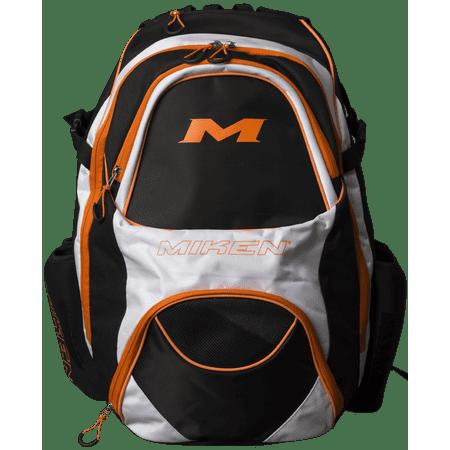 Xl Backpack MKBG18-XL - Black/White/Orange