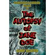 The Autopsy of Jane Doe - eBook