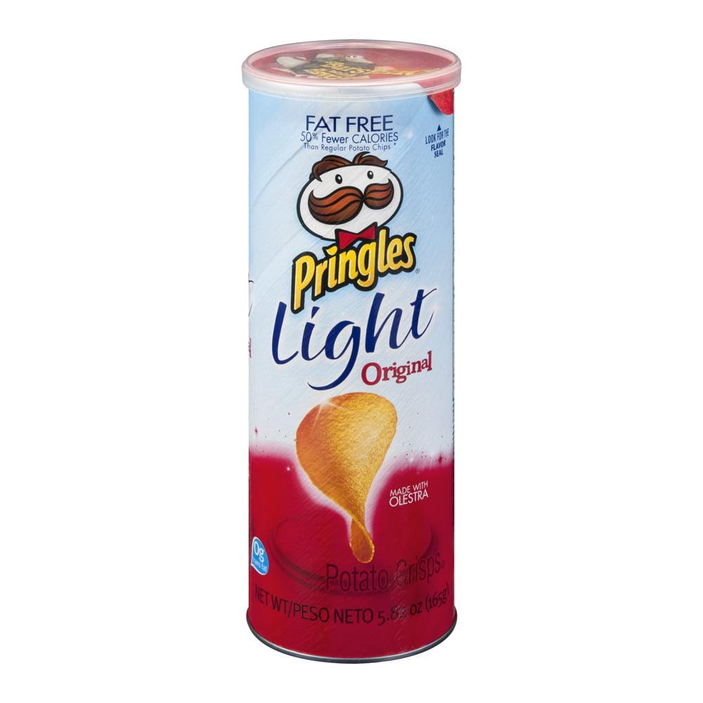 Pringles Light Fat Free Original, 5.82 OZ