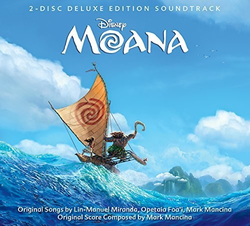 Moana (2 Disc Deluxe Edition Soundtrack) (CD)