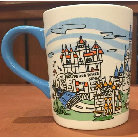 Skyline Large Mug (Disney Walt Disney World 4 Parks Skyline Ceramic Coffee Mug)