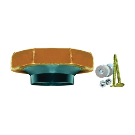 - Fluidmaster No. 3 Toilet Bowl Wax Ring Gasket With Toilet Bowl Bolts And Plastic Flange Sleeve