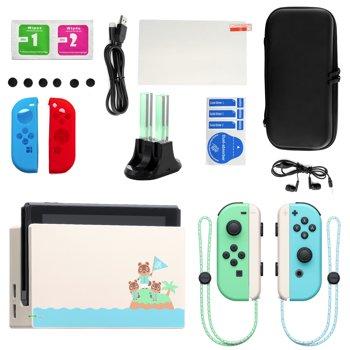 Nintendo Switch Animal Crossing New Horizon Ltd Ed Console w/Accessories