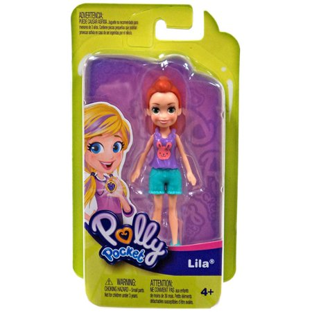 Polly Pocket Trendy Outfit Lila Mini Figure [Green Shorts]