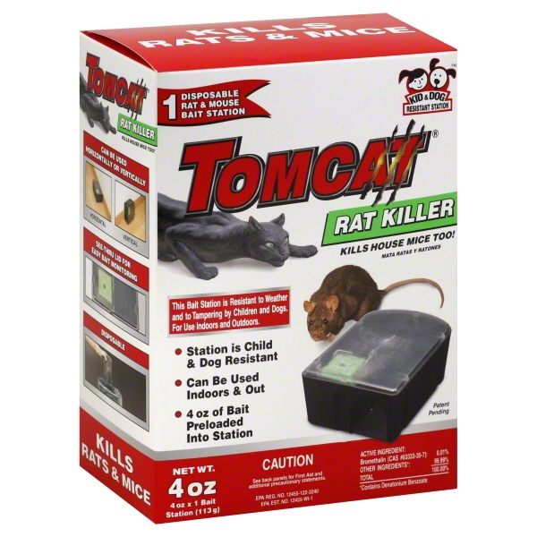Tomcat Rat Killer Disposable Rat & Mouse Bait Station