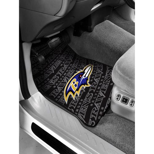 NFL - Baltimore Ravens Floor Mats - Set of 2