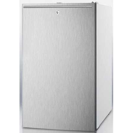 CM411LBISSHH 20 Medically Approved Compact Refrigerator with 4.1 cu. ft. Capacity  Professional Horizontal
