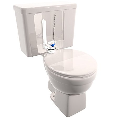 toilet flapper not seating.  Plumb Craft Fix a Flush Kit Walmart com