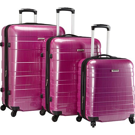 McBrine Luggage A736 ECO 3pc Set