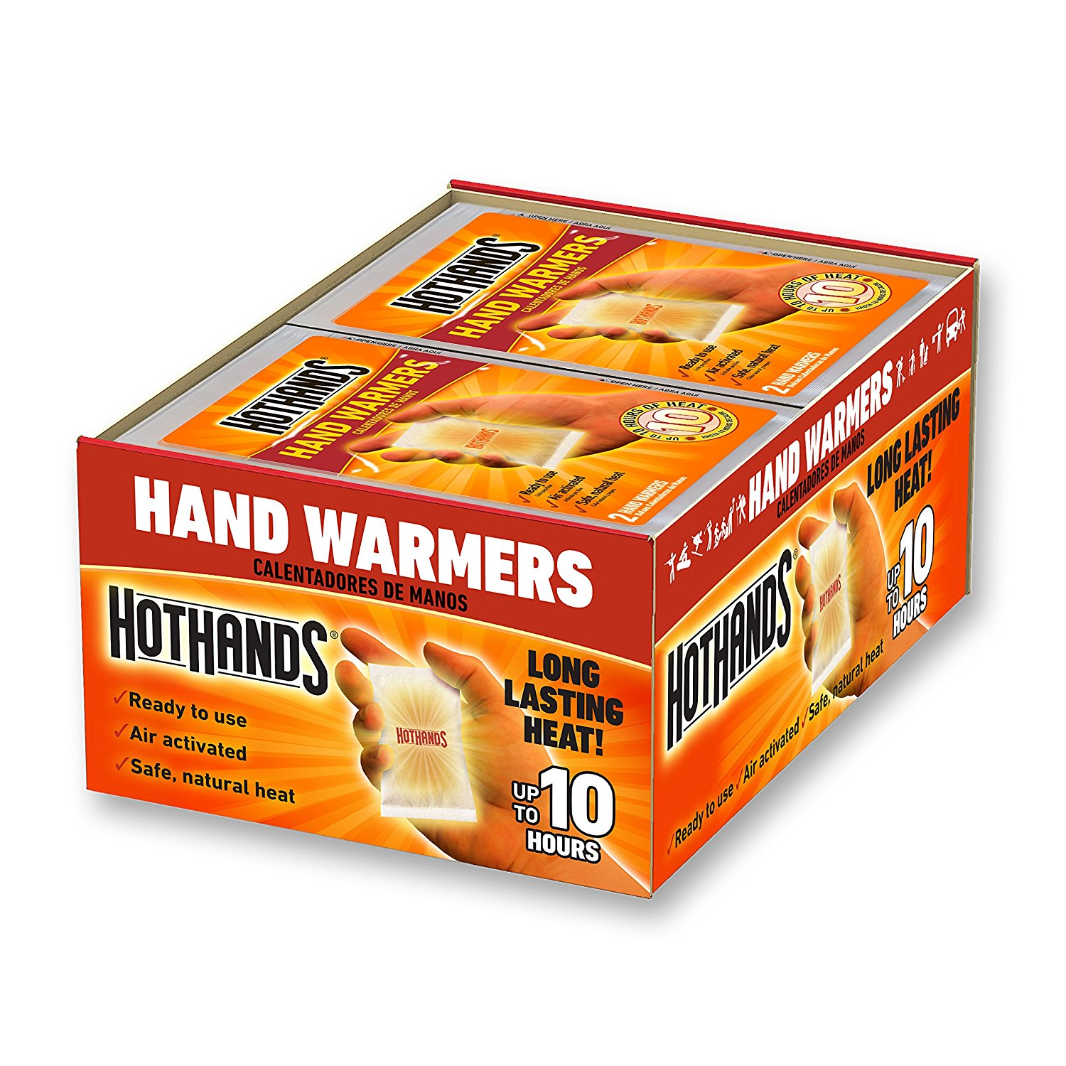 Hand Body Warmer Variety Pack Long Lasting Safe Natural HotHands Toe