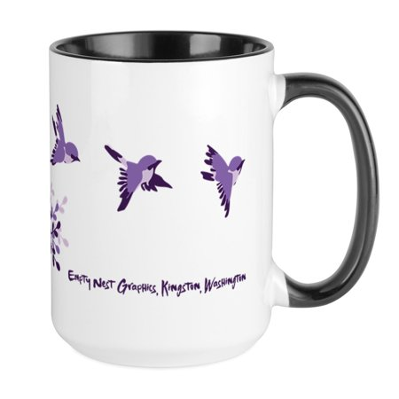 CafePress - Empty Nest Mugs - 15 oz Ceramic Large (Empty Mug)