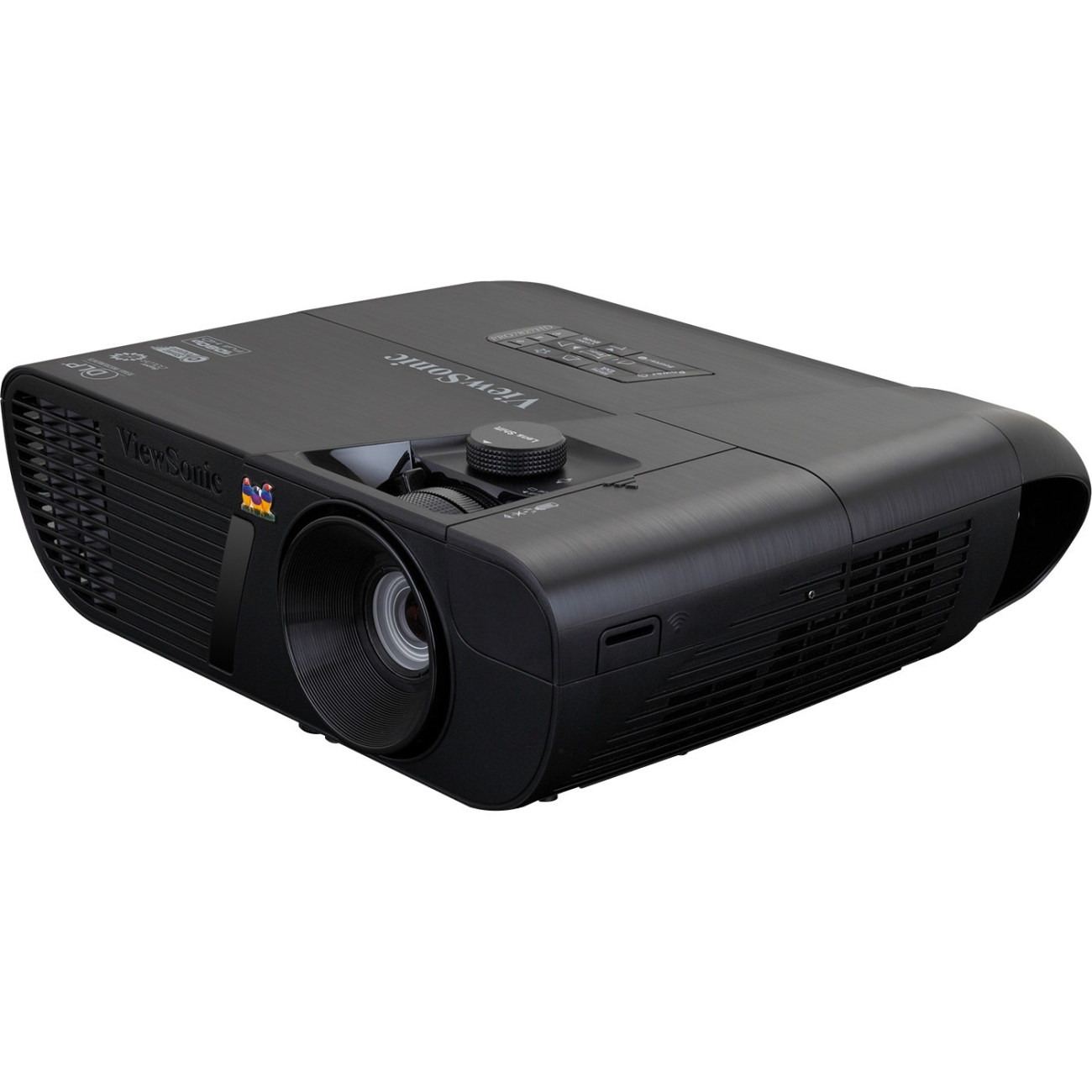 Viewsonic Lightstream Pro7827hd 3d Ready Dlp Projector - 1080p - Hdtv - 16:9 - Front - 3500 Hour Normal Mode - 6500 Hour Economy Mode - 1920 X 1080 - Full Hd - 22,000:1 - 2200 Lm - Hdmi - (pro7827hd)