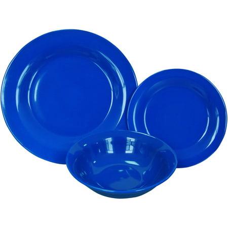 Mainstays College Starter 12-Piece Stoneware Dinnerware Set, Exclusive for $<!---->