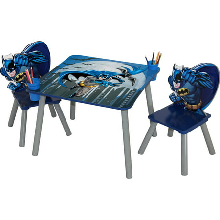 o 39 kids batman table and chair set. Black Bedroom Furniture Sets. Home Design Ideas