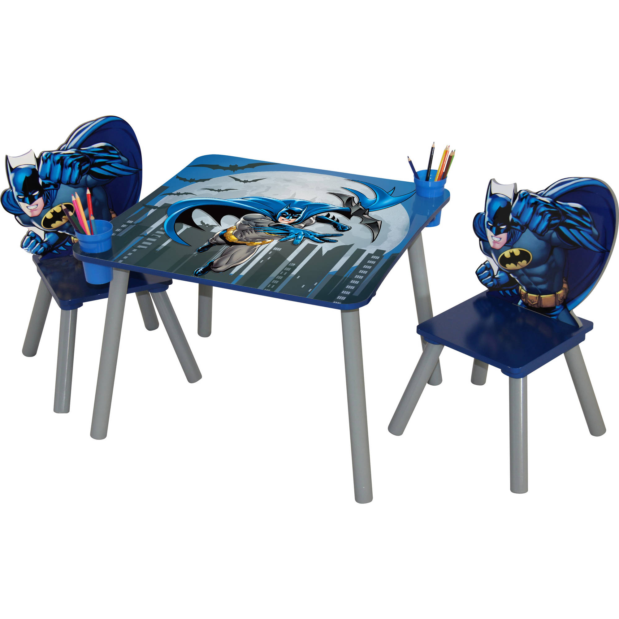 O'Kids Batman Table and Chair Set