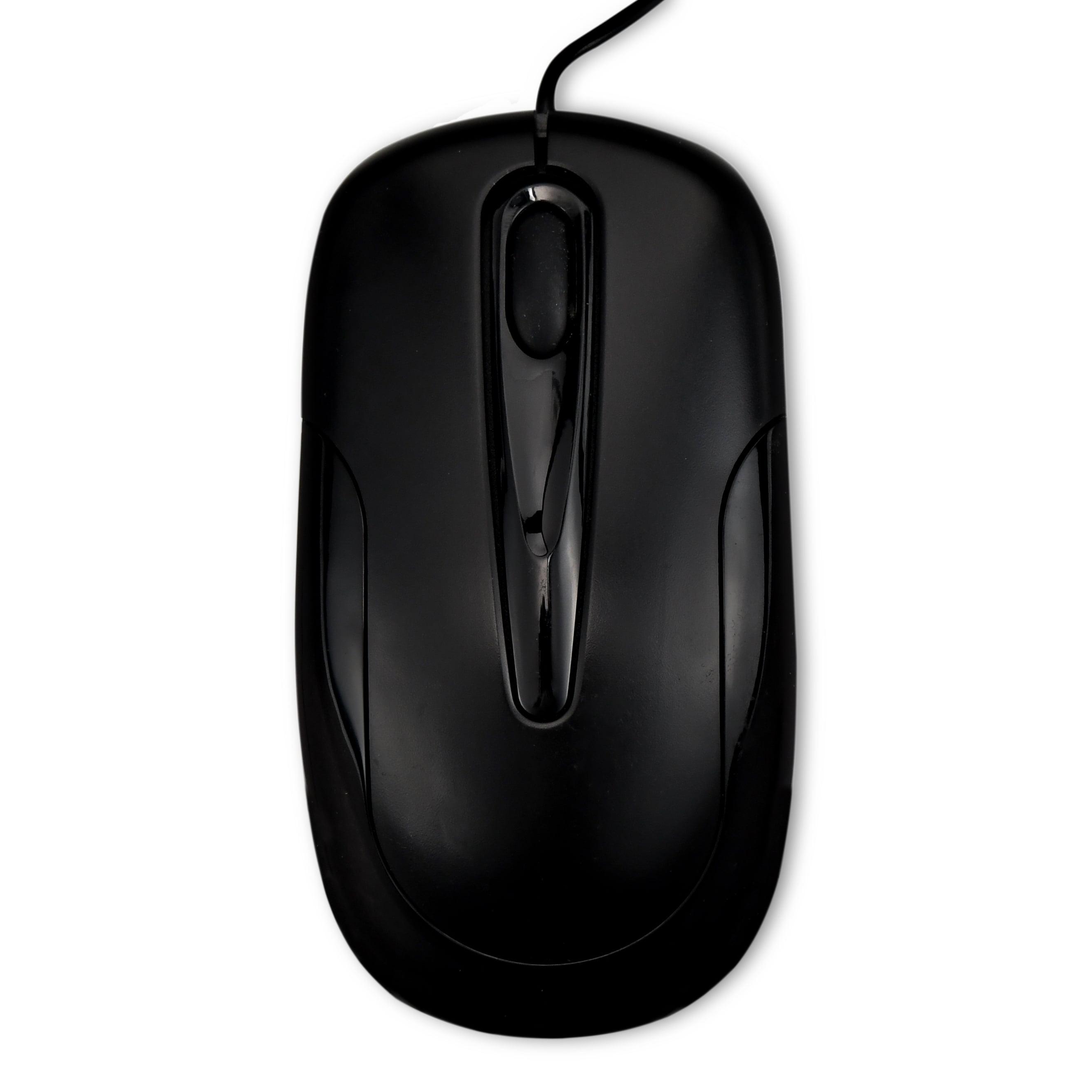 fc6e5984aed Onn Standard 3D Optical Mouse With Scroll Wheel, Black - Walmart.com
