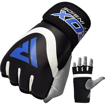 RDX Boxing Inner Gel Gloves under Hand Wraps MMA Fist knuckle Protector Muay Thai Fist Bandages Maya Hide leather Padded (Thai Cotton Wrap)