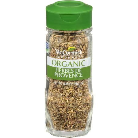 Herbes De Provence (McCormick Gourmet Organic Herbes De Provence, 0.65)