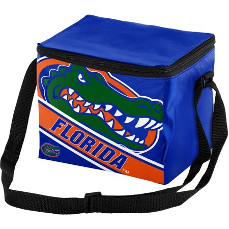 Forever Collectibles Big Logo Stripe 6 Pack Cooler, University of Florida Gators