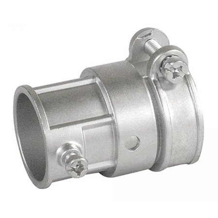 2 Pcs, Die Cast Zinc Squeeze Type Combination Coupling 1 In. Emt to 1 In. Flexible Metal Conduit Provide Much Needed Flexibility In Running Conduits
