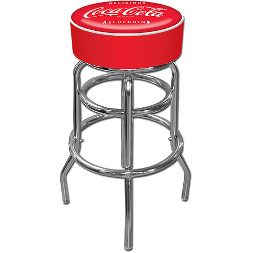 "Trademark Global Coca Cola Vintage 30"" Pub Stool"