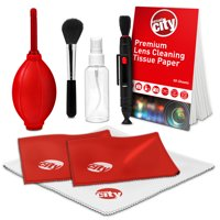 Circuit City 8 Piece Professional Cleaning Kit for DSLR, Mirrorless, Compact Digital Cameras and Lenses