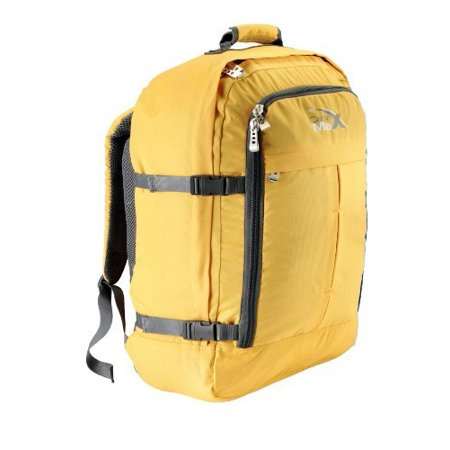 Bags Flight Bag (Metz Backpack Flight Approved Carry on Bag - 22x16x8 (Yellow))