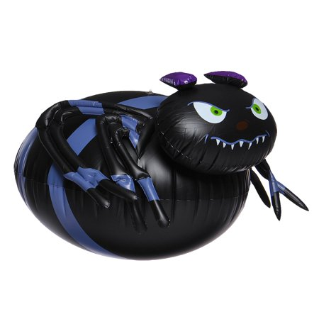 Halloween Spider PVC Inflatable Animated Ghost Halloween Party Supplies 65x50x32cm  - image 5 of 9