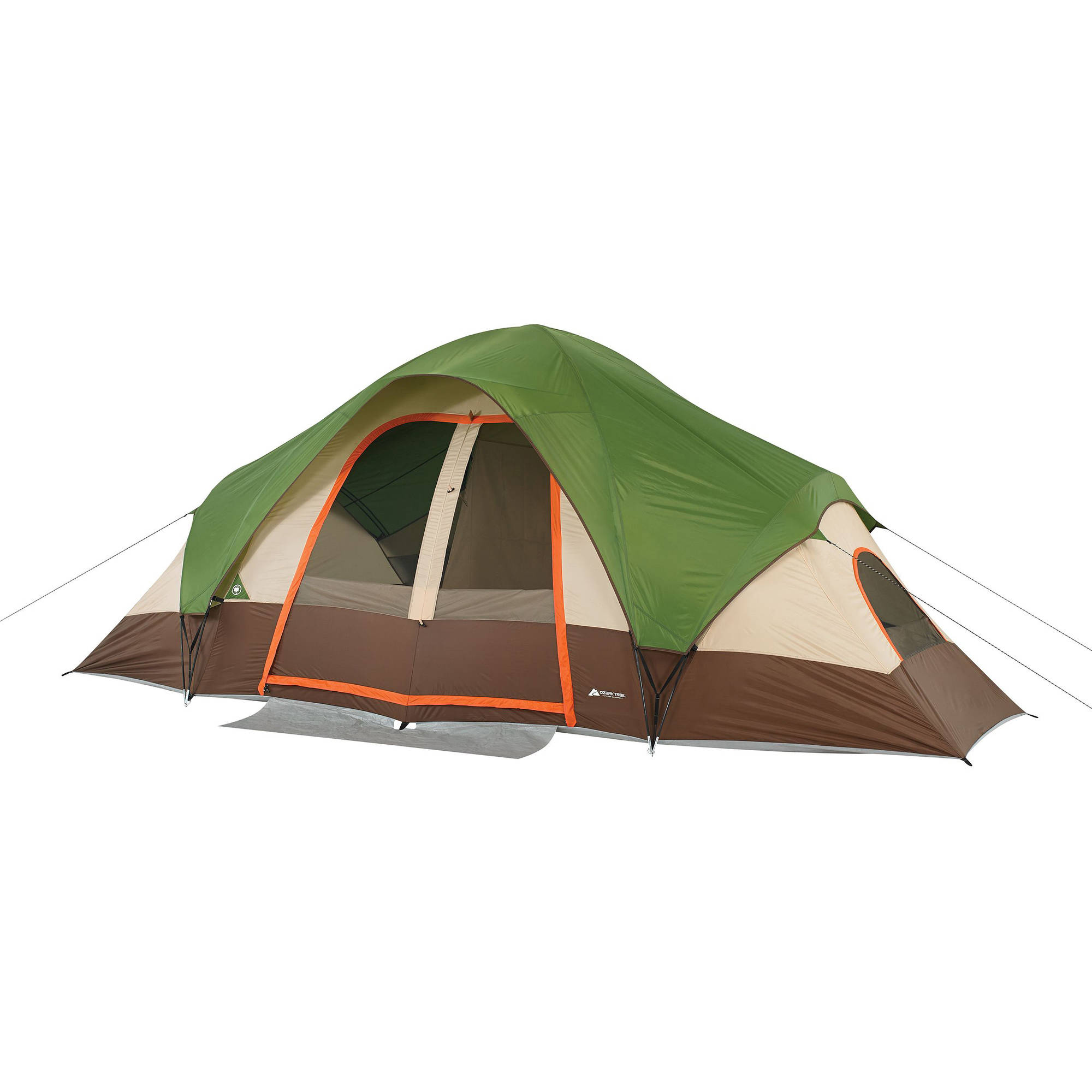 Ozark Trail 8-Person Family Dome Tent with Mud Mat