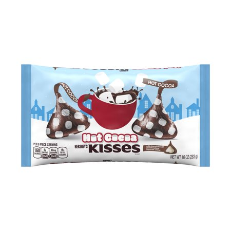 Hershey's, Holiday Hot Cocoa Chocolate Kisses, 10 Oz. ()