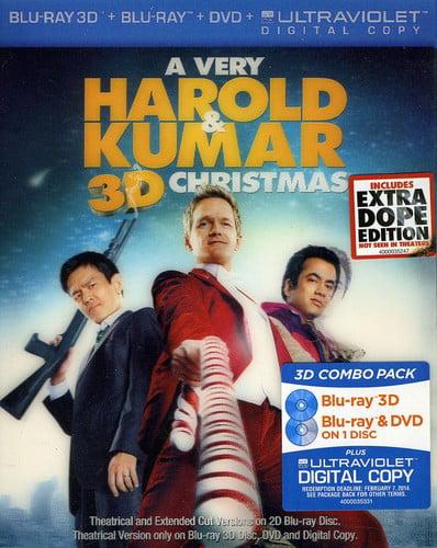 A Very Harold & Kumar 3D Christmas (Blu-ray + DVD) - Walmart.com