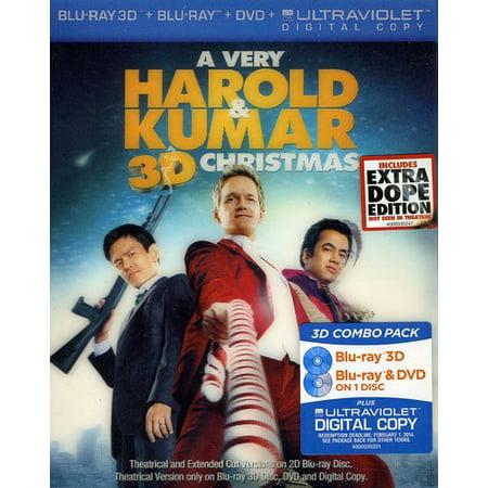 Harold And Kumar Christmas.A Very Harold Kumar Christmas Blu Ray