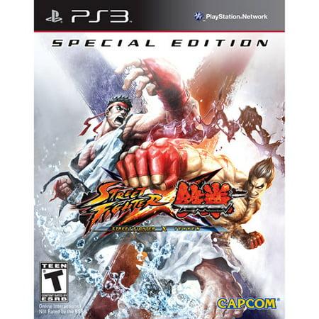 Street Fighter X Tekken: Special Edition - Playstation 3 (Street Fighter 25 Ps3)