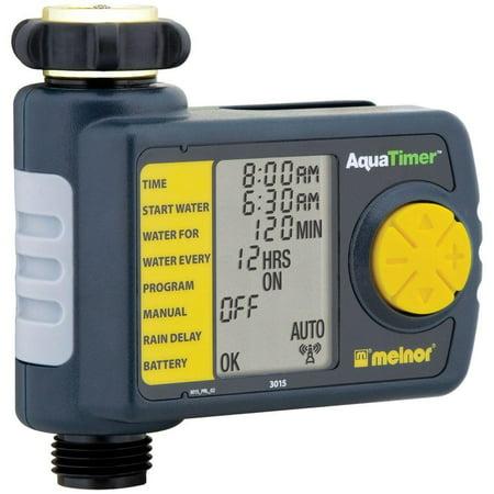 Melnor Automatic 1-Outlet Hose Timer Water Sprinkler Irrigation Controller Melnor558-026 (Sprinkler Controller)