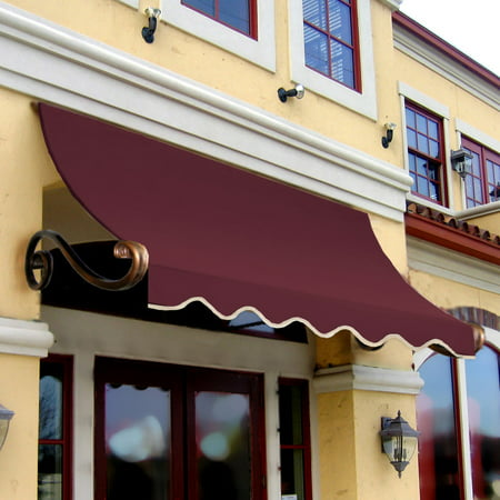 Awntech Charleston Scrilled Arms Window Door Awning