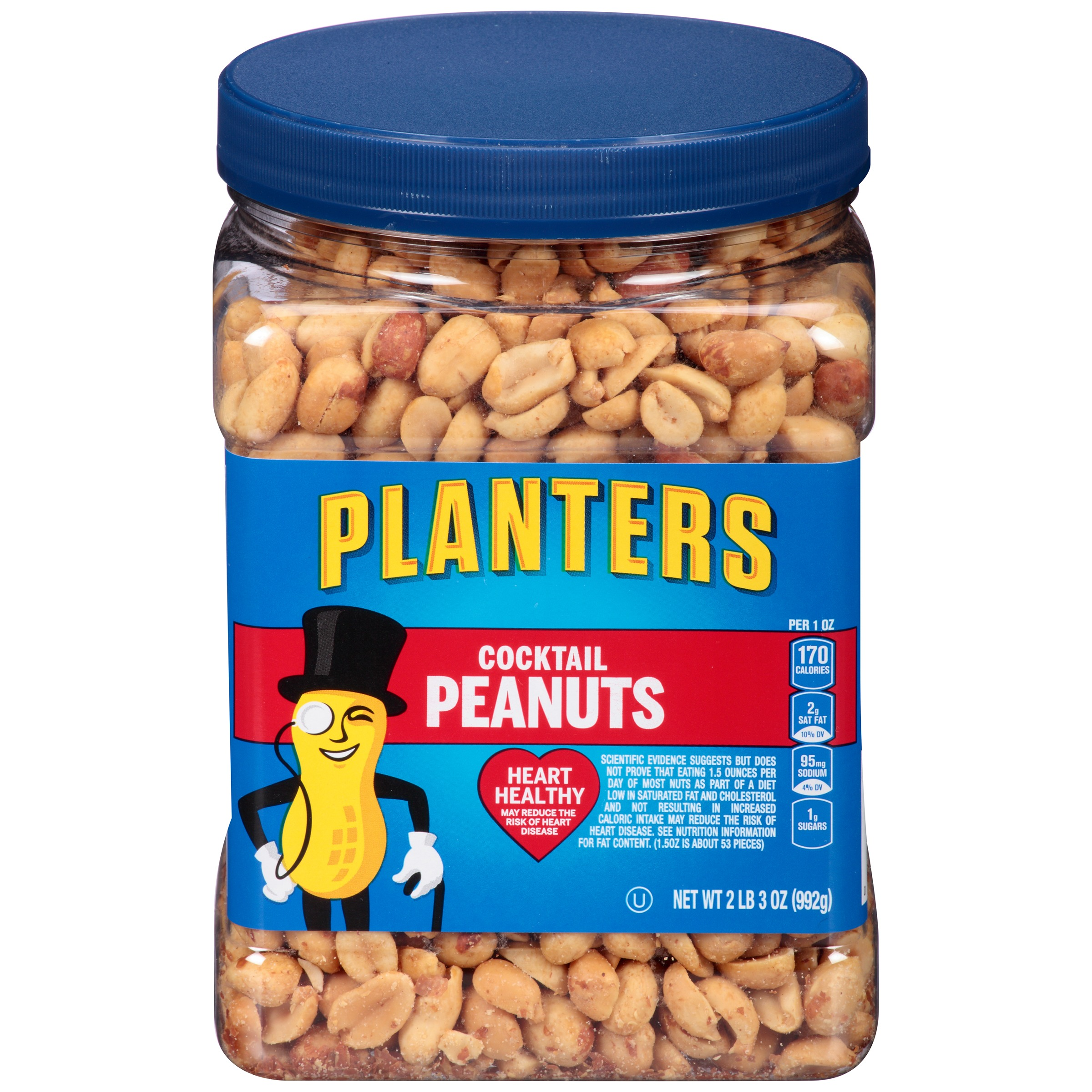 Planters Cocktail Peanuts 35 oz. Jar