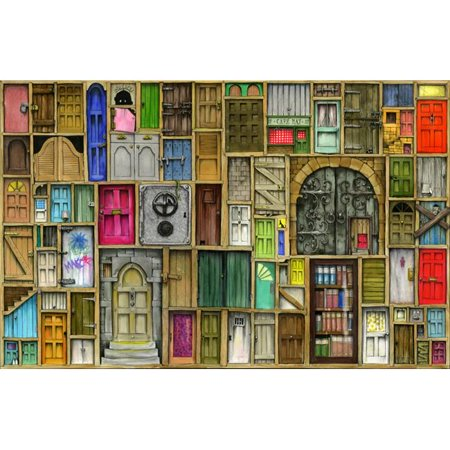 MGL Licensing MGL600796 Doors Closed Poster Print by Colin Thompson, 17 x 12 - image 1 de 1
