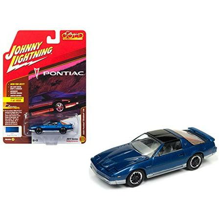 1985 Pontiac Firebird Trans Am Bright Blue Poly