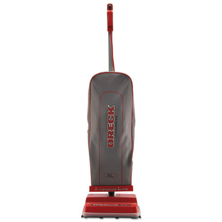 Oreck Commercial U2000R-1 Commercial Upright Vacuum, 120 V, Red/Gray, 12 1/2 x 6 3/4 x 47 - Oreck Compact Vacuum
