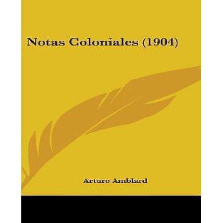Notas Coloniales (1904) - image 1 de 1