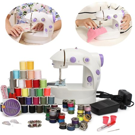 Household Hemline Mini Sewing Machine 2 Speed For Beginners & Kids New - Beginner Sewing Machine