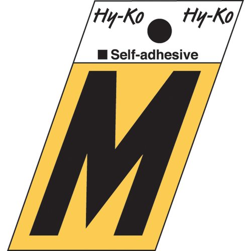 Hy-Ko Surface Mount House Letter (Set of 10)