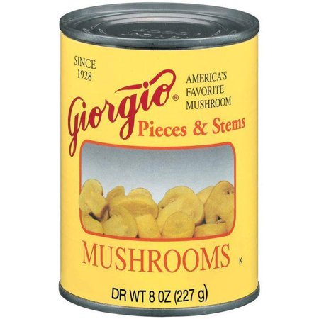 Matsutake Mushrooms (Giorgio Pieces & Stems Mushrooms 8 Oz (Pack of 12))