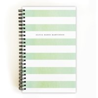 Airy Florist - Personalized 5 x 8 Notebook