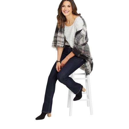 maurices Women's DenimFlex Bootcut Jeans - Rinse Wash Slim - Rinse Wash Bootcut Denim