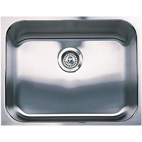 "Blanco 440260 Spex Plus 18"" X 23"" Single-Basin Stainless Steel Undermount Residential Kitchen Sink, Stainless Steel"
