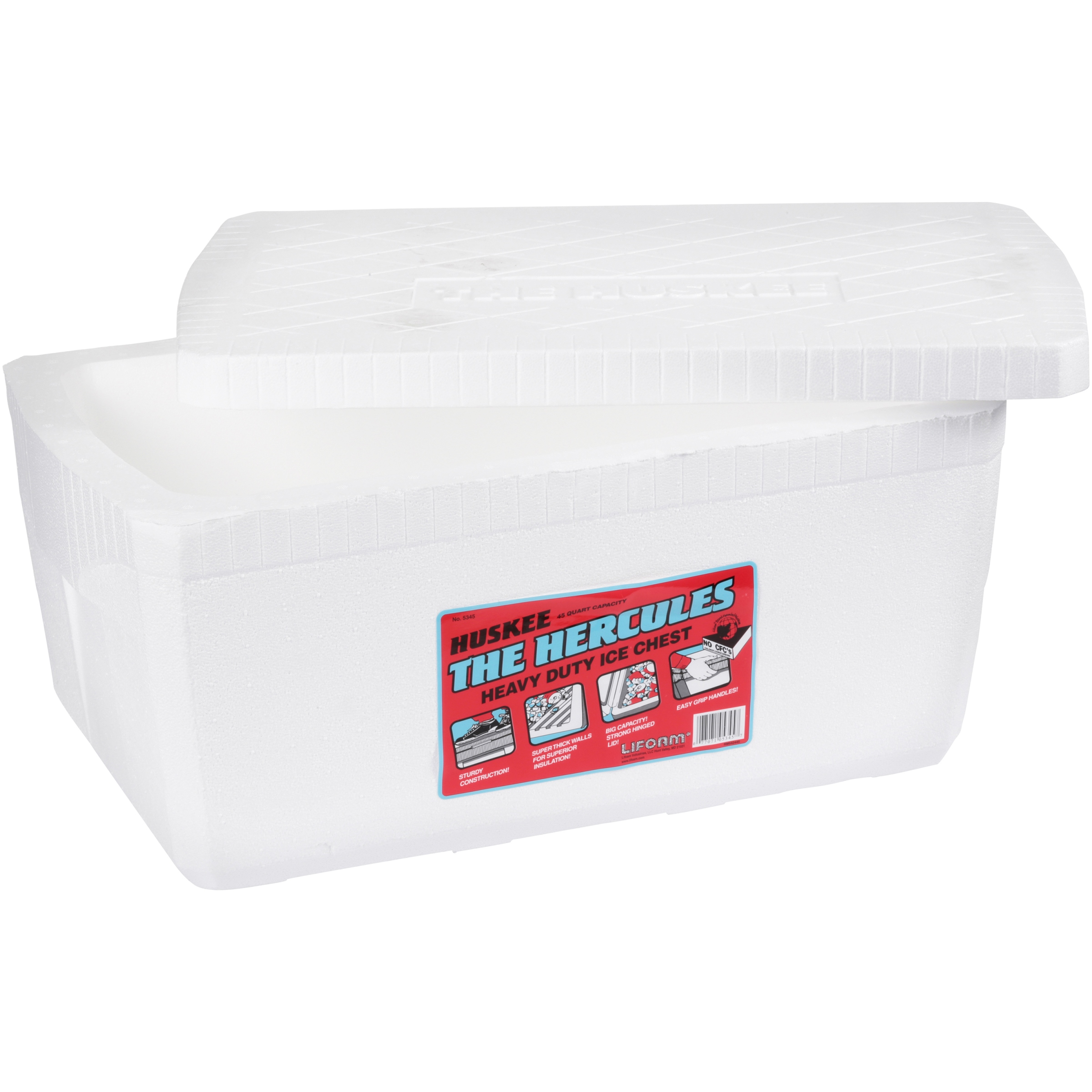 Lifoam™ 48 Can Premium Cooler - Huskee™ Hercules
