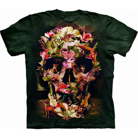 Jungle Skull Big Boys T-Shirt -
